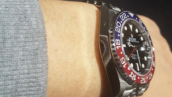 GMTマスター2 赤青